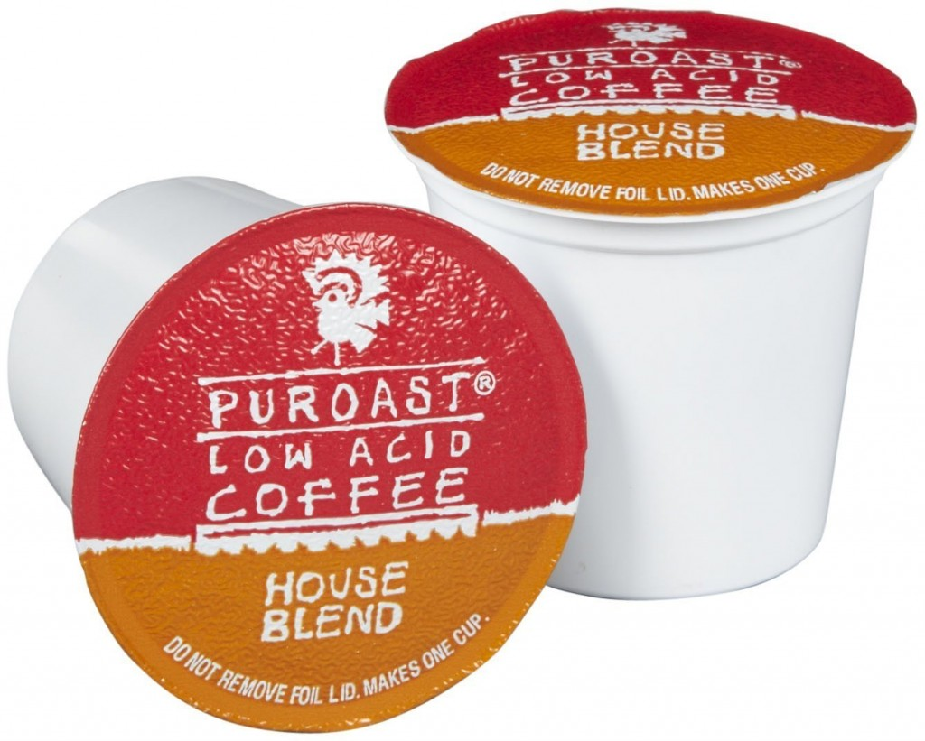 k-cups provided by Puroast